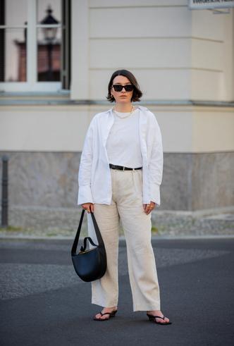 Фото №9 - С чем носить белую футболку: 40 стильных идей на любой случай