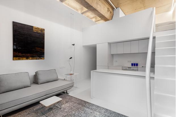 Фото №2 - Светлая квартира 36 м² со спальней на антресоли