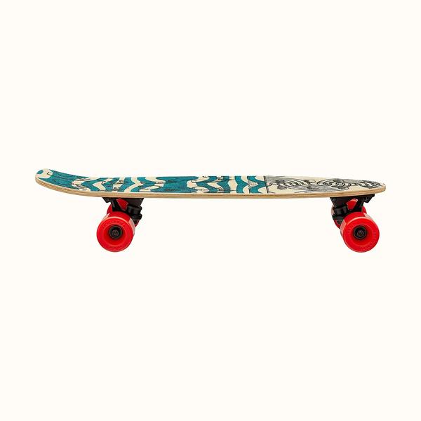 Фото №4 - Эффектный трюк: сумка-скейтборд от Hermès