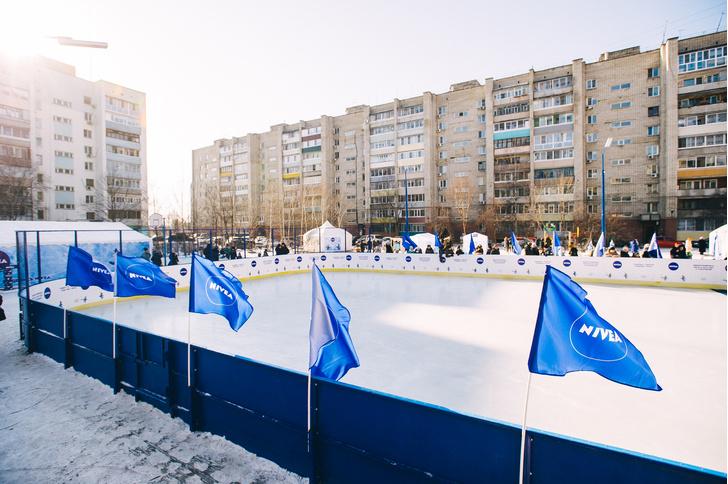 Фото №2 - Бренд Nivea помог реконструировать 15 ледовых площадок России