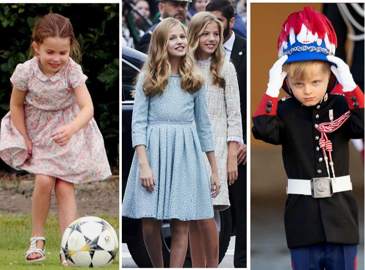 Фото №1 - Детские игры: 7 занимательных хобби королевских наследников