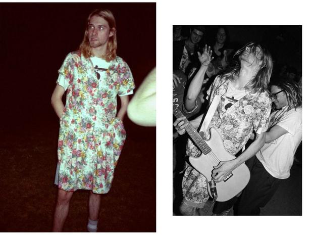 Фото №3 - Выходы и выходки: зачем Курт Кобейн носил платья