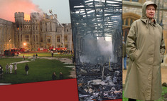 Виндзоры в огне не горят: как пожар 1992 года едва не лишил королеву Елизавету II дома и семьи