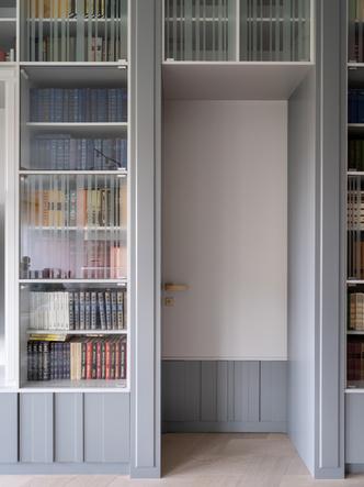 Фото №5 - Квартира с домашней библиотекой в Москве