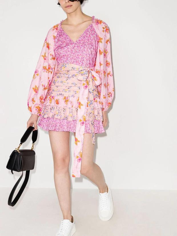 Фото №5 - 15 цветочных розовых платьев как у Селены Гомес в новом видео De Una Vez