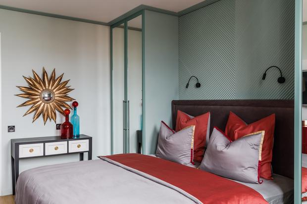 Фото №6 - Всплеск цвета: яркая квартира 81,6 м²