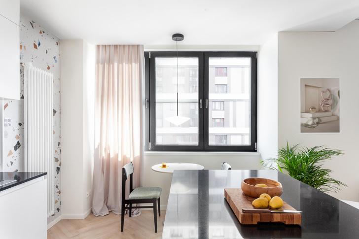 Фото №4 - Простота и функциональность: белая квартира 45 м²