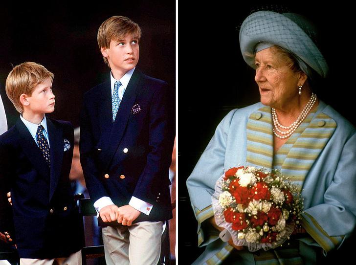 Фото №1 - Какое наследство Королева-мать оставила правнукам (и почему Гарри ничего не получил)