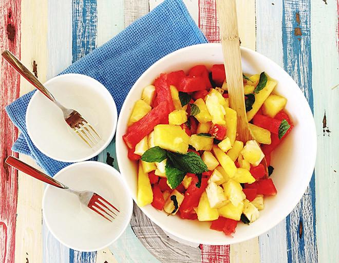 Фруктовый салат рецепты