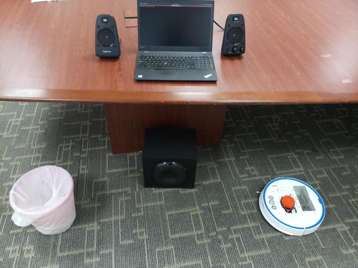 Фото №1 - Робот-пылесос может подслушивать людей, хотя в нем даже нет микрофона