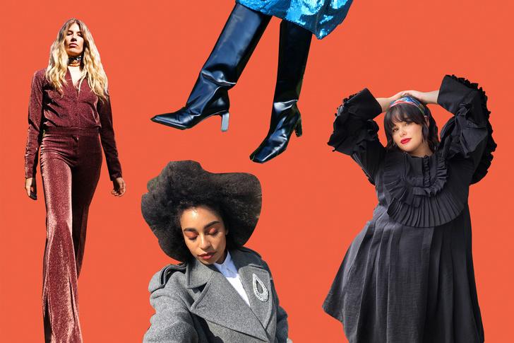 Фото №19 - В стиле диско: самые яркие образы из коллекции H&M Studio FW 2020
