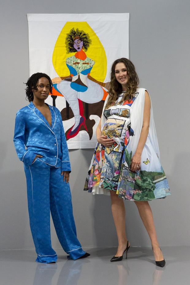 Фото №1 - Колумнист ELLE Мария Байбакова— о том, как женщины-художницы поддерживают других женщин
