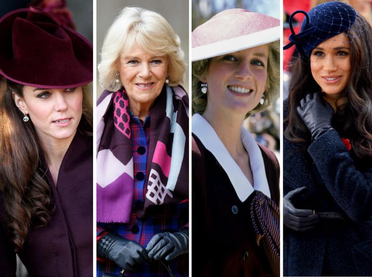 Фото №1 - Единственная привычка, которая объединяет Кейт, Меган, Камиллу и Диану