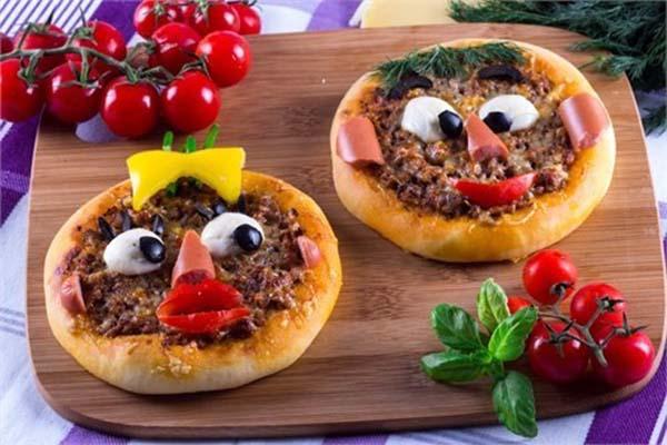 Веселые пиццы