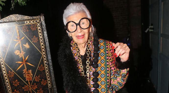 Модный возраст: иконе стиля Айрис Апфель исполнилось 100 лет