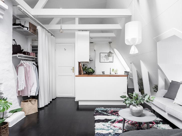 Фото №5 - Маленькая, но уютная мансарда в Швеции