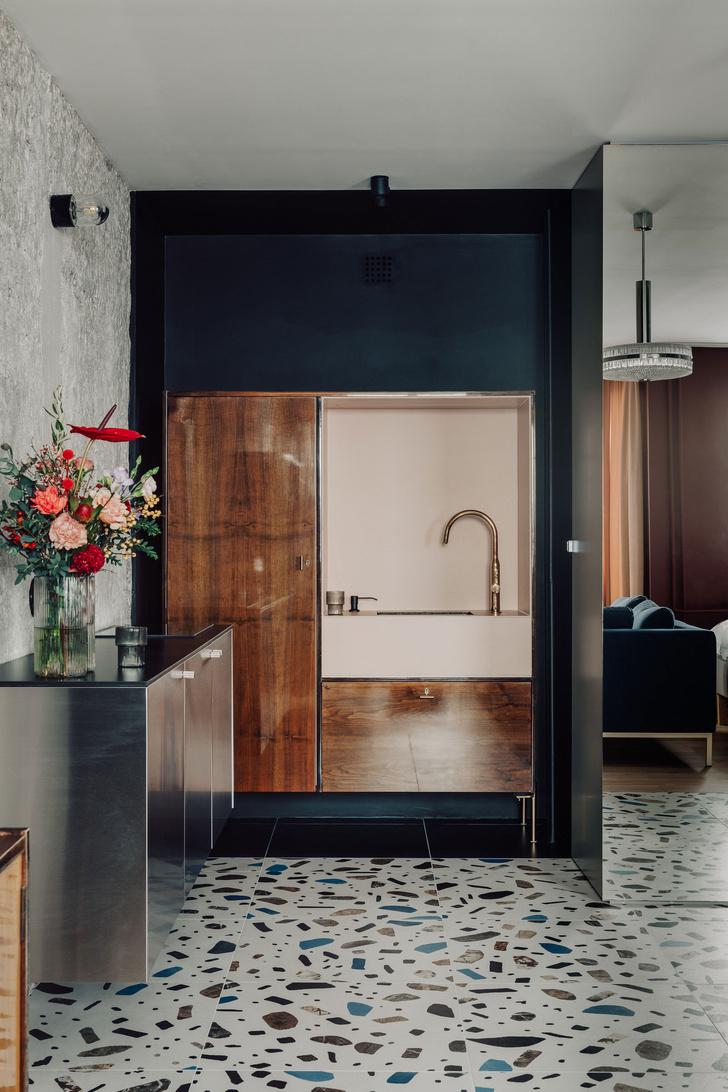 Фото №3 - Маленькая квартира с винтажными акцентами в Катовице