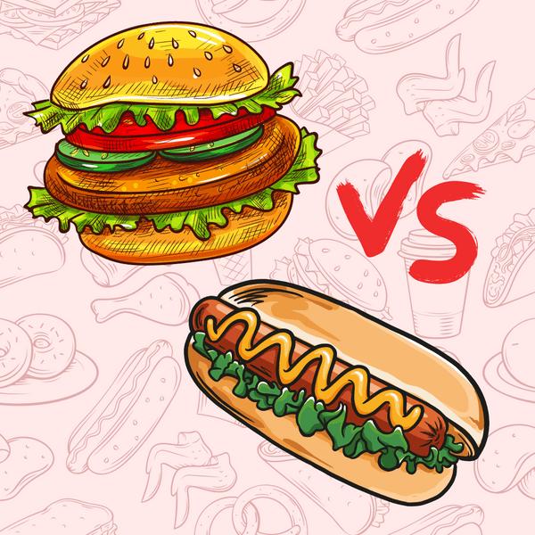 Фото №1 - Тест: Ты хот-дог или гамбургер?
