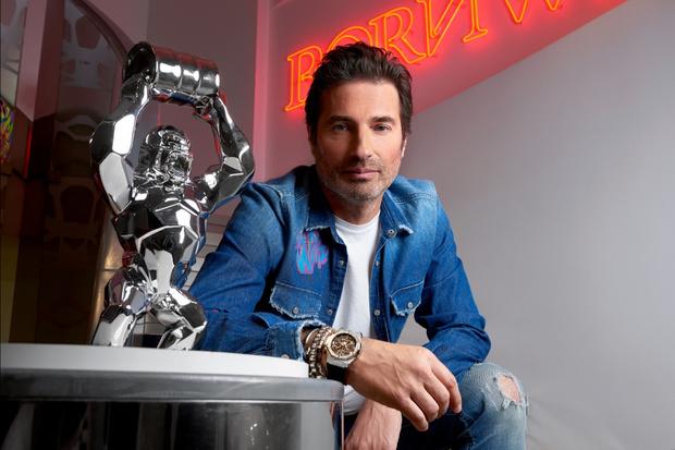 Фото №2 - Все прозрачно:Hublot иРичард Орлински представили часы для благотворительного аукциона