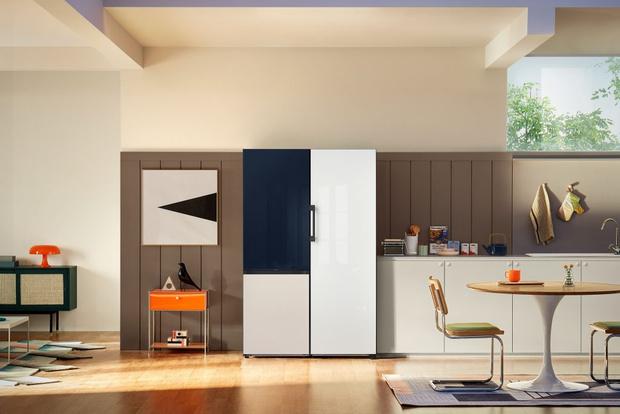 Фото №2 - Samsung представляет обновленную линейку интерьерных холодильников Bespoke в России