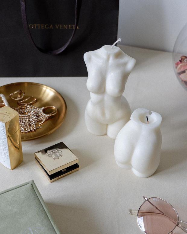 Фото №1 - White fall: фигурные свечи Ululu для романтических осенних вечеров дома