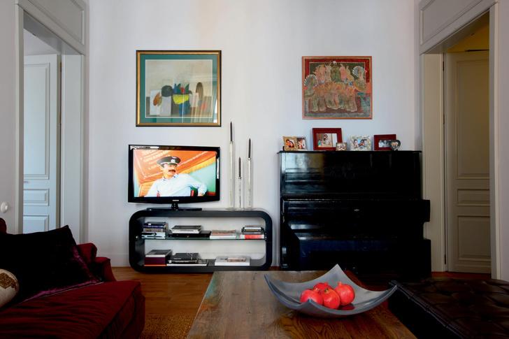 Фото №5 - Из архивов ELLE DECORATION: московская квартира Софико Шеварнадзе
