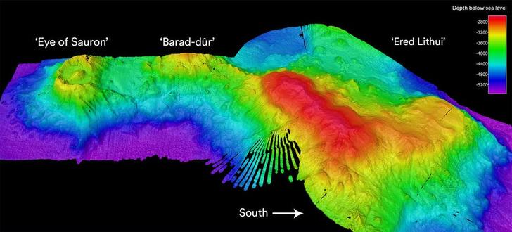Фото №1 - На дне Индийского океана нашли потухший вулкан
