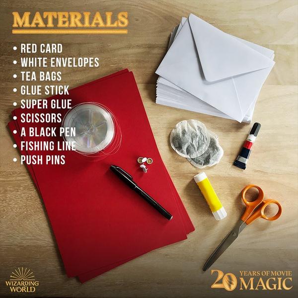 Фото №3 - DIY: как сделать себе письмо из Хогвартса 🦉