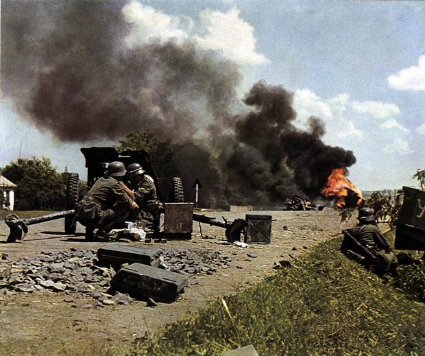 Фото №2 - 22 завораживающих цветных фото Второй мировой