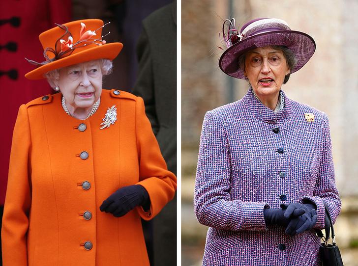 Фото №1 - Верная подруга: кто такая леди Сьюзан Хасси— женщина, сопровождавшая Королеву на похоронах Филиппа