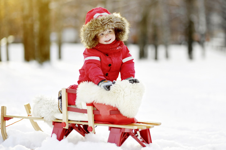 Фото №2 - Зима для ребенка: прогулки, уход и еда