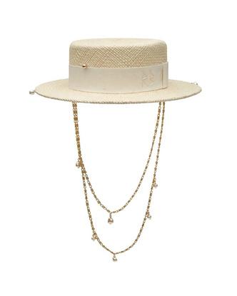Фото №2 - Вот это да: Ви из BTS позирует в соломенной шляпе украинского бренда RuslanBaginskiy