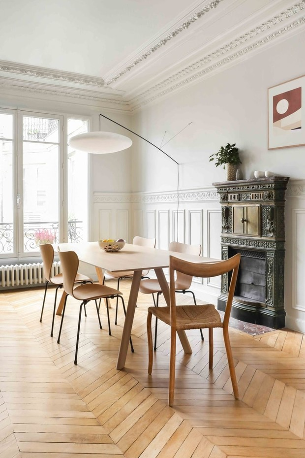 Фото №8 - Парижская квартира в стиле джапанди