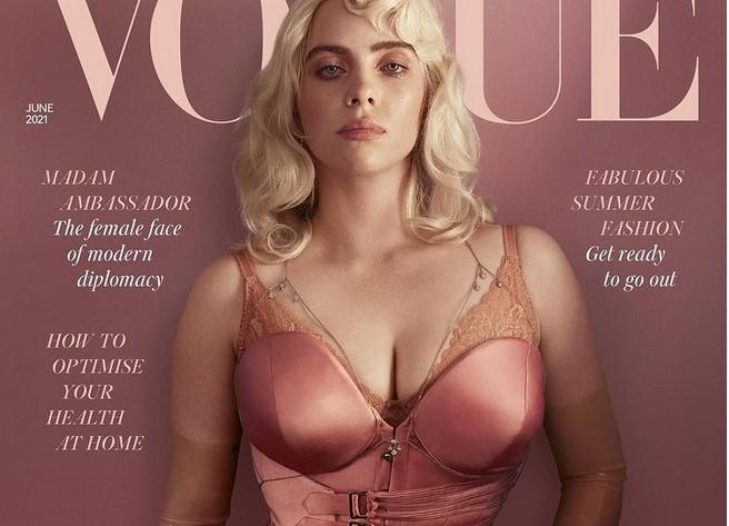 Фото №1 - Билли Айлиш впервые разделась для британского Vogue