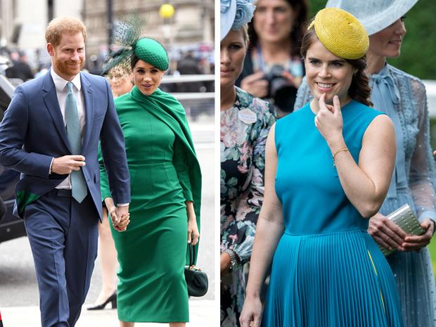 Фото №1 - Шаг навстречу: как Гарри и Меган поздравили Евгению с беременностью