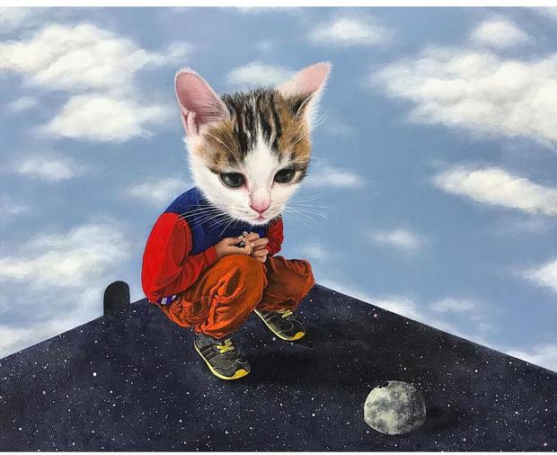 Фото №5 - Инстаграм дня: Японский художник, который рисует котиков