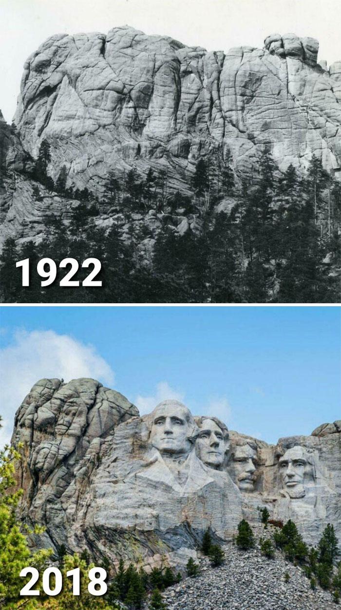 Фото №13 - 10 пейзажей, которые неузнаваемо изменило время