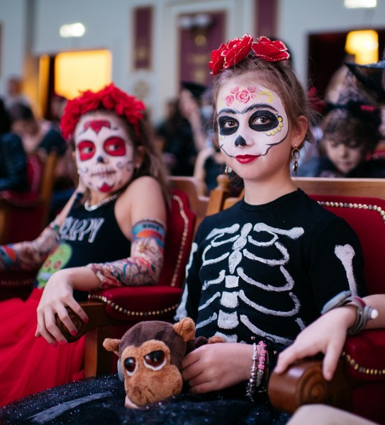 Фото №1 - Странные дела, привидения и мистический ЗАГС: Хэллоуин в детской стране профессий