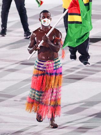 Фото №13 - Как прошло открытие Олимпиады в Токио: самые яркие кадры