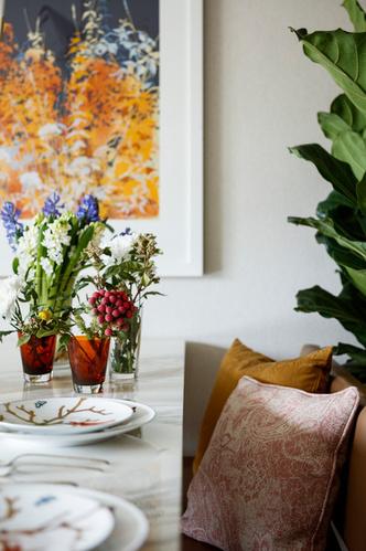 Фото №4 - Элегантная квартира с яркими акцентами в Лондоне