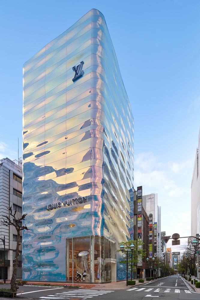 Фото №1 - Флагман Louis Vuitton в Токио: проект Джуна Аоки и Питера Марино
