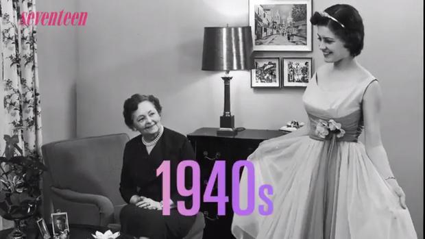 Фото №2 - Как изменился дизайн выпускного платья за последние 80 лет