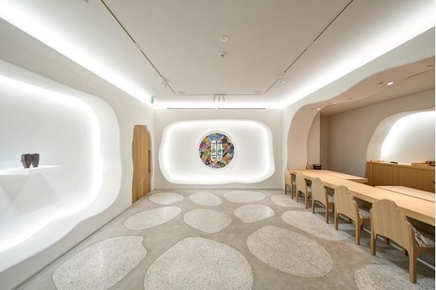 Фото №4 - Ресторан-галерея в Токио