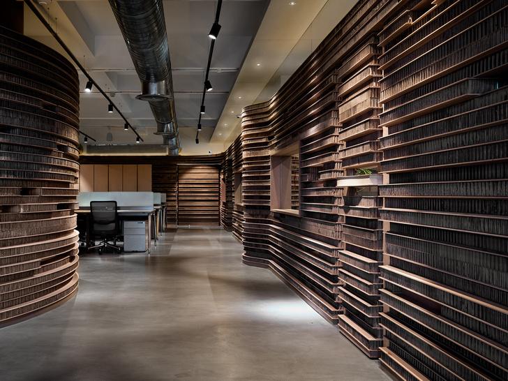 Фото №3 - Офис с картонными перегородками в Индии