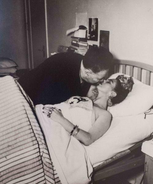 Фото №8 - «С тобой я несчастная, но без тебя не будет счастья»: история страстно-болезненной любви Фриды Кало