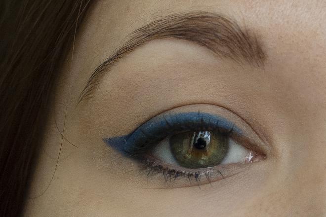 Maybelline, Master kajar, оттенок глубокий синий