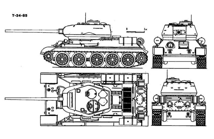 Фото №2 - Почему Т-34 считают лучшим танком Второй мировой, если его легко пробивали «Тигр» и «Пантера»