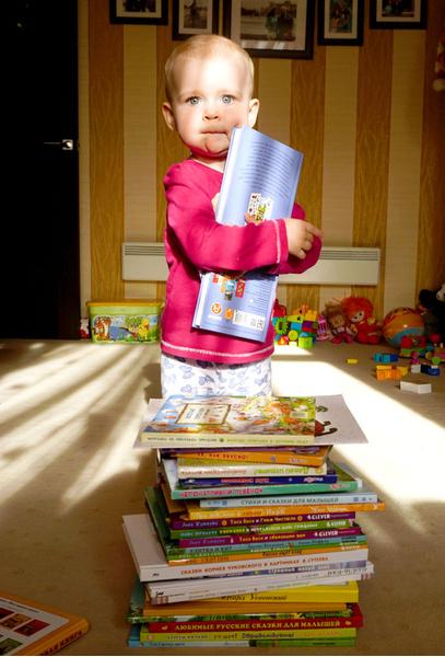 Фото №1 - Пять книг, которые полюбит малыш до года