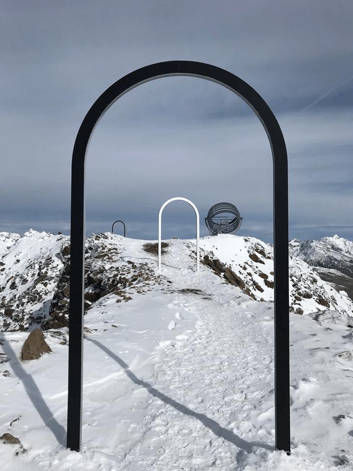Фото №3 - Новый арт-объект Олафура Элиассона в горах Тироля