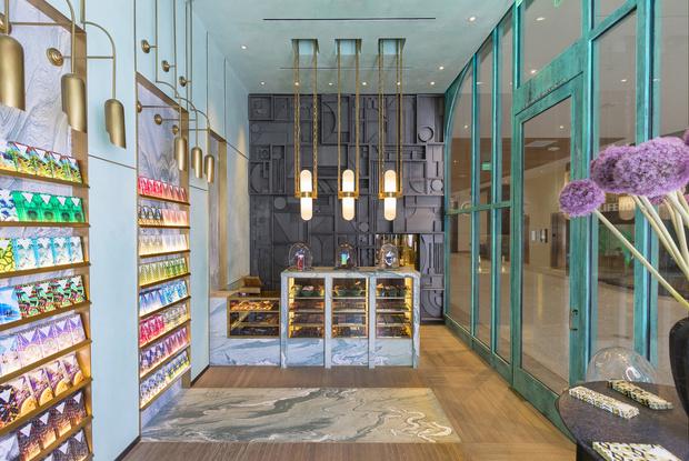 Фото №1 - Шоколадная фабрика: кондитерская Compartes по дизайну Келли Уэстлер